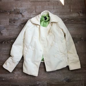 GAP Cream Color Corduroy Jacket!